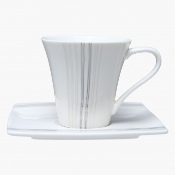 Reina Espresso Cup and Saucer Set - 100 ml