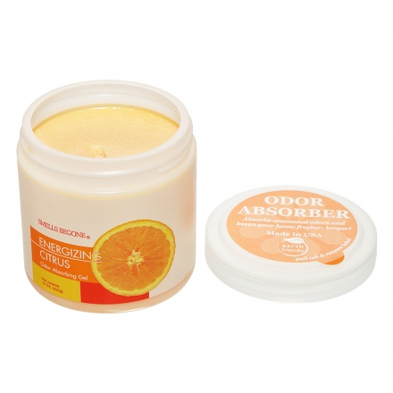Smells Begone Energizing Citrus Gel