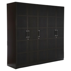 Croco 5 Door Wardrobe