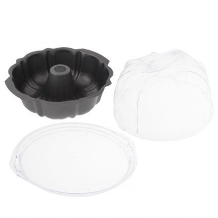 Round Form with Cake Carrier Pan