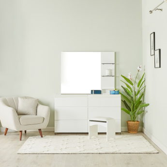 Betrib 3-Drawer Dresser with Mirror