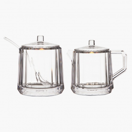 Milk and Sugar Jar - Set of 2