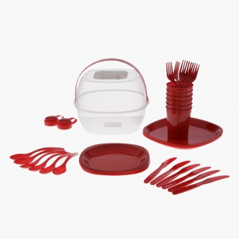 Picnic 39-pieceTableware Set