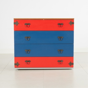 Little Pirate Chest of 4-Drawers