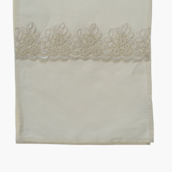 Akoya Embroidered Table Runner