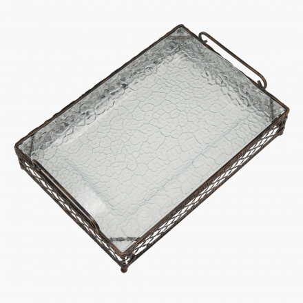 Accent Tray with Stand - Set of 2