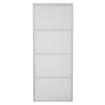 Continental Frosted Sliding Door - 90 cm width