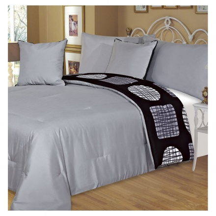 Adele 5-piece Super King Comforter Set - 260x260 cms