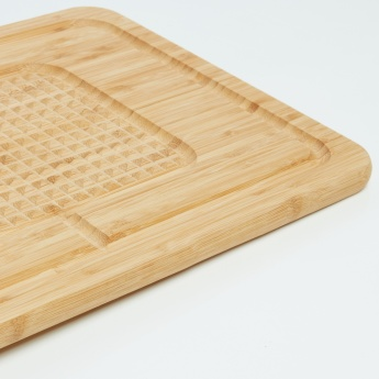 Natural Bamboo Pyramid Cutting Board