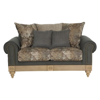 Aban 2-Seater Sofa with Scatter Cushions