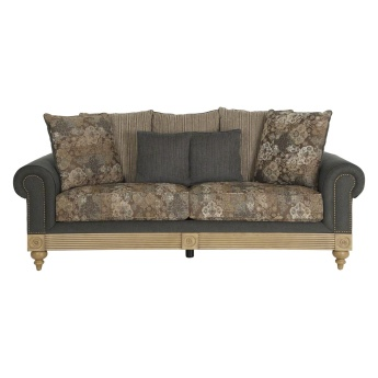 Aban 3-Seater Sofa with Scatter Cushions