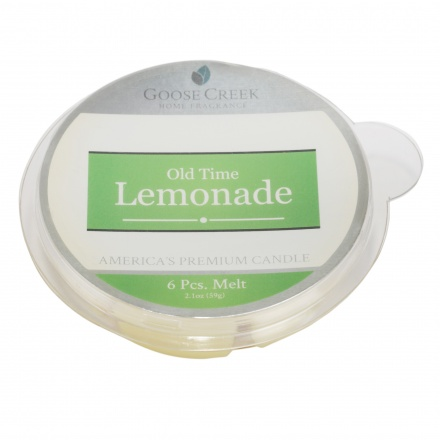 Old Time Lemonade Round Candle - Set of 6