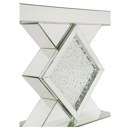 Bling Console Table with Mirror