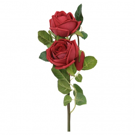 Real Touch Rose Spray 89 cms