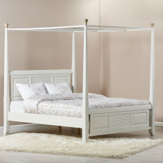 Louis King Poster Bed - 180x210 cms