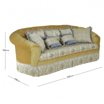 Carolina 3-seater Sofa