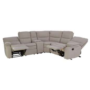 corner sofas with recliners new style black leather