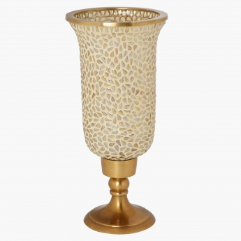 Rome Footed Hurricane Candle Holder