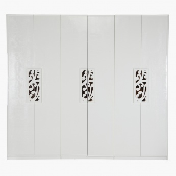 Gelvin Five-plus Door Wardrobe