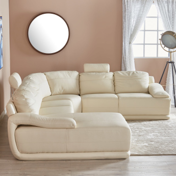 Alfred 6-Seater Corner Sofa with Splayed Arms