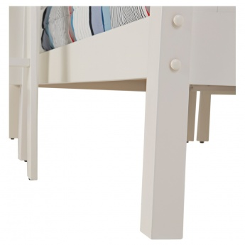 Coastal White Bunk Bed - 90x190 cms