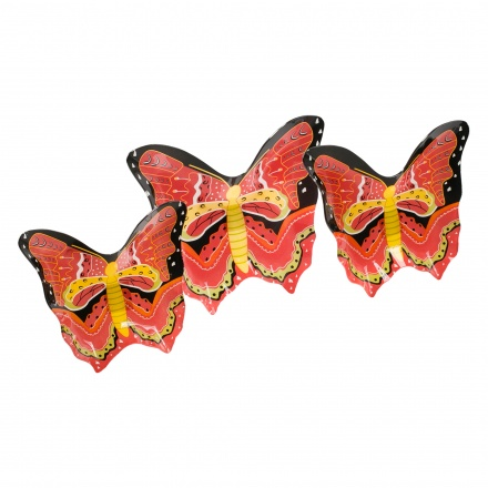 Butterfly Plate - Set of 3