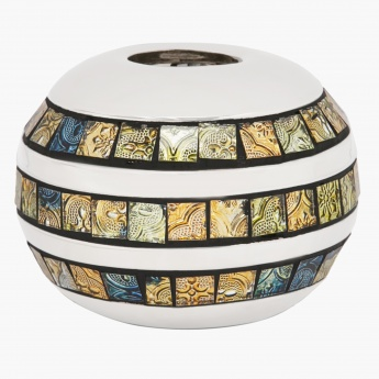 Shine Mosaic Tealight Holder