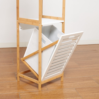 Brookline 4-Tier Stand with Hamper