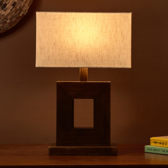 O-Shangrilla Wooden Table Lamp