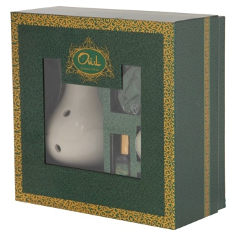Oud Gul-e-Gulaab Oil Burner Gift Set