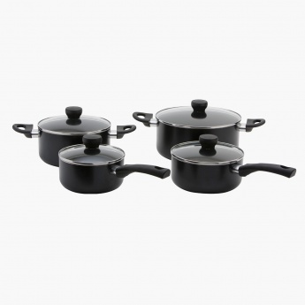 Afiya 8-piece Cookware Set