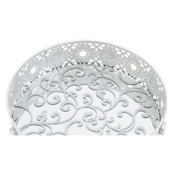 Mirage Mirror Tray 26x26x8 cms