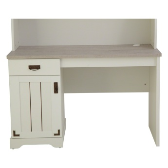 Leon 1-Door Study Desk with Hutch