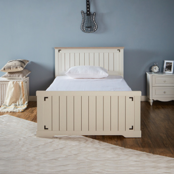 Leon Panelled Full Bed - 120x200 cms