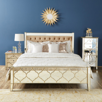 Casablanca King Bed with Tufted Headboard