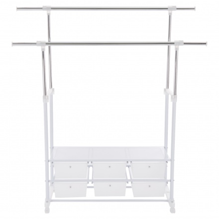 Ultra Clothes Rack with 6 Drawers
