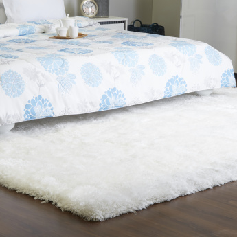 Snow Textured Rectangular Rug - 200x290 cms
