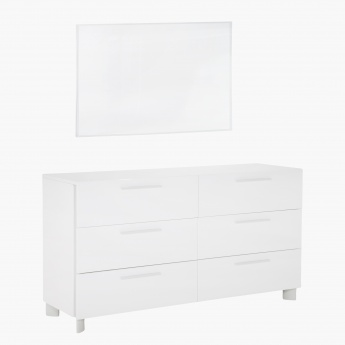Next Dresser with Mirror