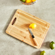 Bamboo and Plastic Cutting board