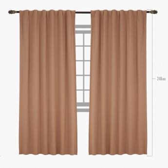 Reggie 2-piece Curtain Set - 135x240 cms