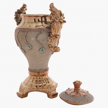 Bejeweled Decorative Pot