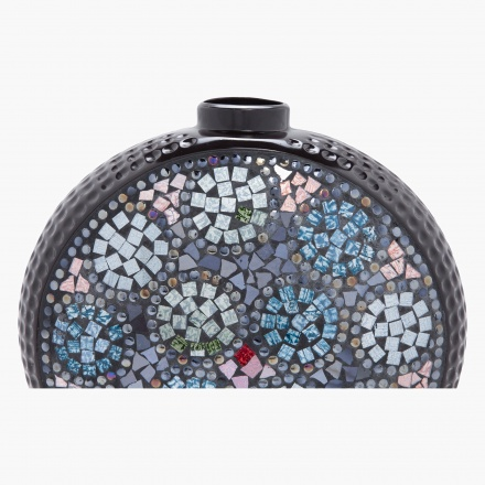 Baubles Mosaic Round Bottle Jar