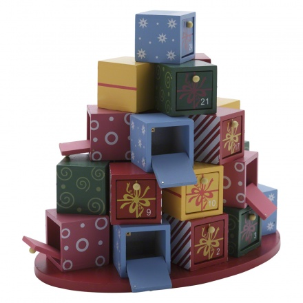 Xmas Gift Boxes with 24 Drawers