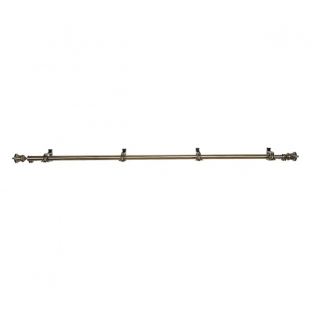 Trophy Double Curtain Rod - 180-460 cms