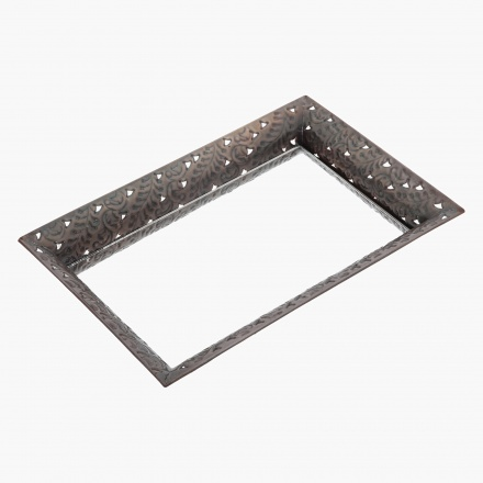 Embossed Mirror Tray