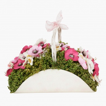 Constancy Anemone Artificial Flower Planter - 21 cms
