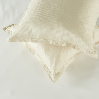 Indulgence Textured 2-Piece Cushion Cover Set - 65x65 cms