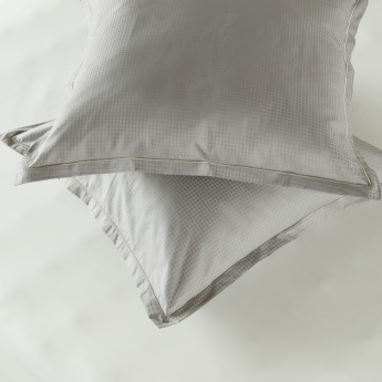 Indulgence Textured 2-Piece Cushion Cover - 65x65 cms