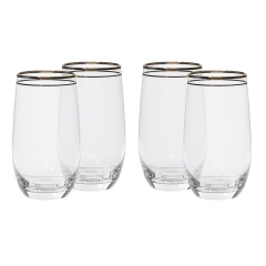 Luxor Hiball Glass 410 ml - Set of 4