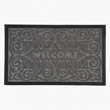 Welcome Ornate Doormat - 45x75 cms